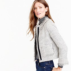 Petite Lady jacket in metallic tweed