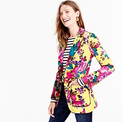 Collection blazer in Ratti® acid rose