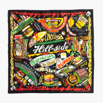 The Hill-Side® No Sleep 'Til Brooklyn burgers bandana