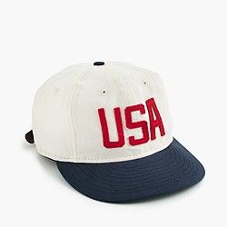 "Ebbets Field Flannels® for J.Crew ""USA"" ball cap"