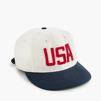 "Ebbets Field Flannels® for J.Crew ""USA"" ball cap"