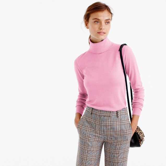 3 layers turtleneck sweater wool female mask 2