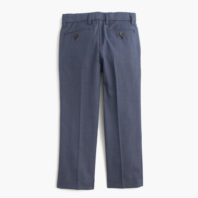 Boys' slim Ludlow suit pant in Italian worsted wool