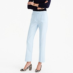 Collection cropped pant with patch pockets