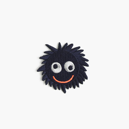 Kids' Max the Monster iron-on critter patch