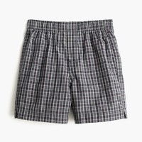 Boys' plaid boxers
