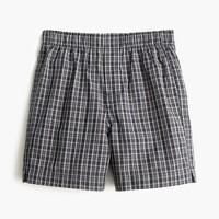 Boys' plaid boxers