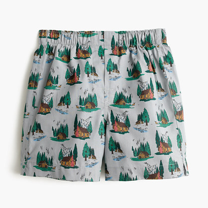 Boys' cabin boxers
