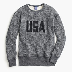 "Ebbets Field Flannels® for J.Crew ""USA"" sweatshirt"