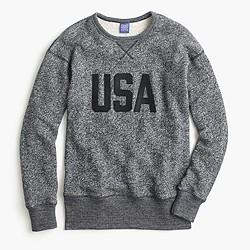 """Ebbets Field Flannels® for J.Crew """"USA"""" sweatshirt"""