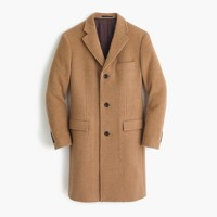 Ludlow topcoat in English camel hair