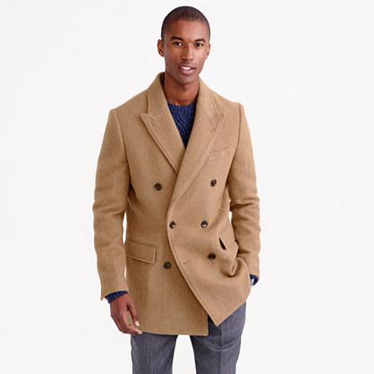 English Camel-Hair Peacoat : Men's Coats & Jackets | J.Crew
