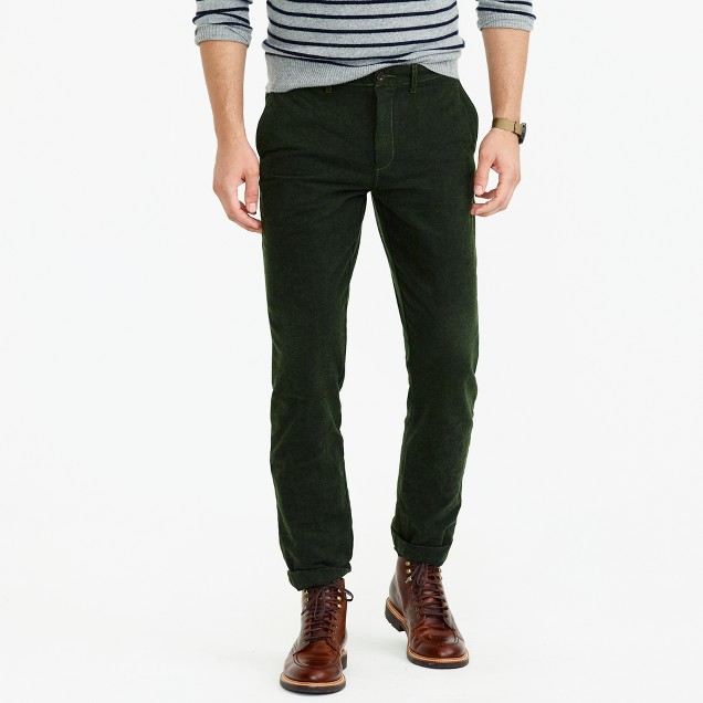 Brushed cotton twill pant in 770 fit