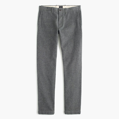 Brushed cotton twill pant in 484 fit