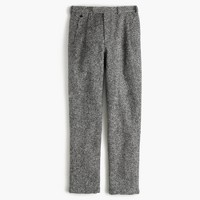 Double-pleated relaxed-fit pant in Irish tweed