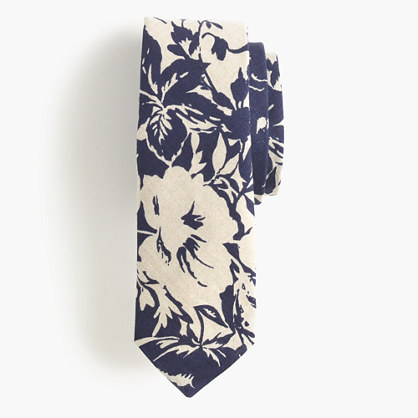 The Hill-side® tie in washed floral print