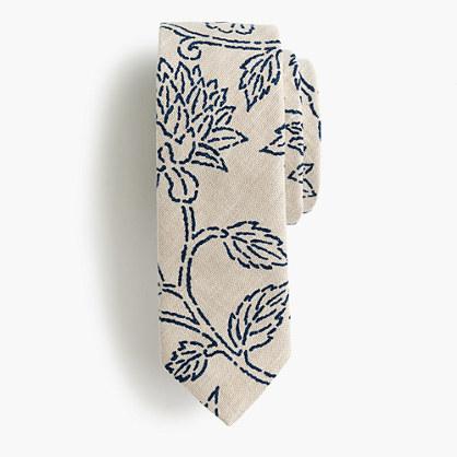 Kiriko™ tie in katazome print