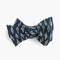 Kiriko™ bow tie in kasuri print