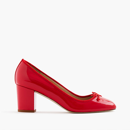 Sophia pumps in patent leather