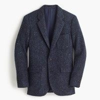 Ludlow fielding suit jacket in Irish Donegal wool