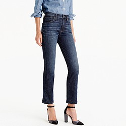 Petite Vintage crop jean in Leopold wash