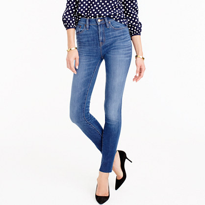 Tall lookout high-rise jean in Fairoaks wash