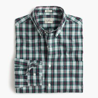 Secret Wash shirt in multicolor tartan