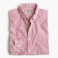 Slim Secret Wash shirt in large stripe