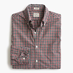 Slim Secret Wash shirt in hawkworth check
