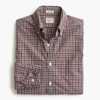Tall Secret Wash shirt in hawkworth check