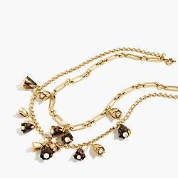 Tortoise bud necklace