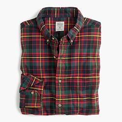 Slim oxford shirt in multicolor tartan