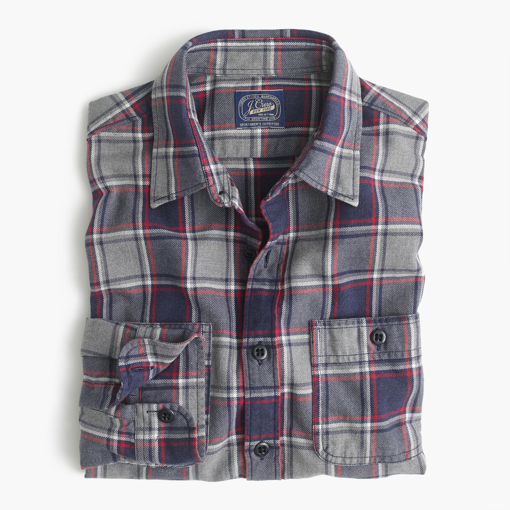 Men Flannel Shirt