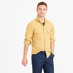 Tall heavyweight chamois shirt