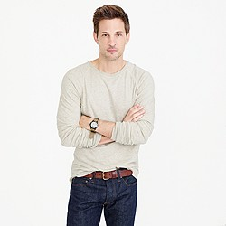 Tall double-knit crewneck shirt