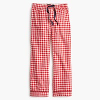 Tall gingham flannel pajama pant