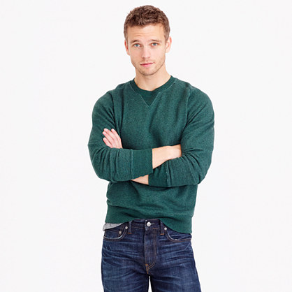 Tall fleece sweatshirt