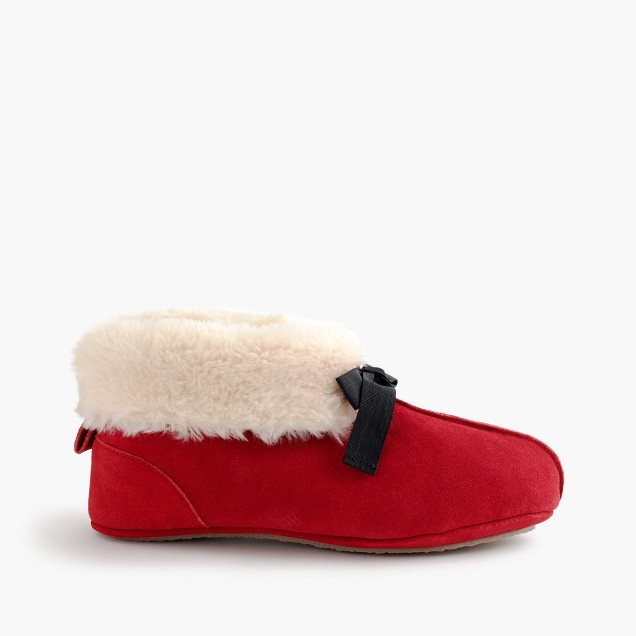 Women's lodge moccasin booties