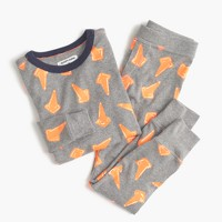 Kids' Sleepy Jones® for crewcuts pajama set in safety cones