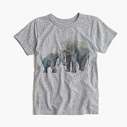 Pre-order Kids' crewcuts for David Sheldrick Wildlife Trust elephant T-shirt