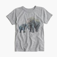 Kids' crewcuts for David Sheldrick Wildlife Trust elephant T-shirt