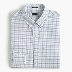 Ludlow shirt in tattersall oxford