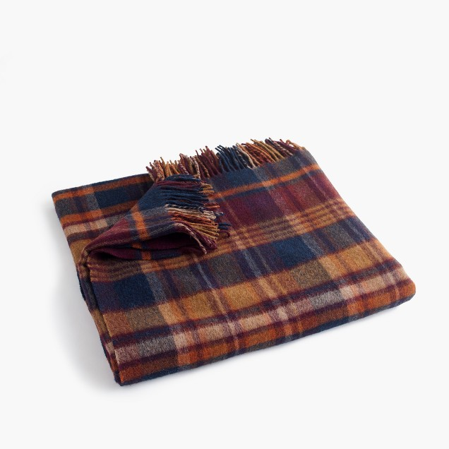 Abraham Moon for J. Crew wool blanket