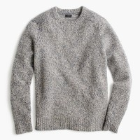 Brushed lambswool sweater