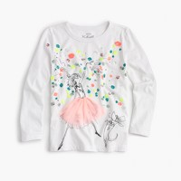 Girls' Olive celebration T-shirt