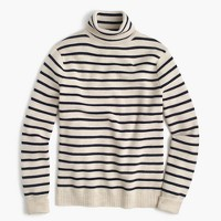 Wallace & Barnes wool turtleneck in stripe