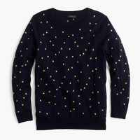 Tippi sweater in embroidered stars