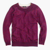 Tippi sweater in houndstooth