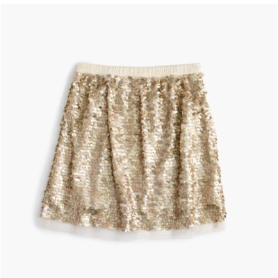 Girls' Sequin Tulle Skirt : Girls' Skirts | J.Crew