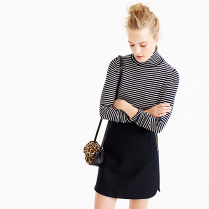 Tippi turtleneck sweater in stripe